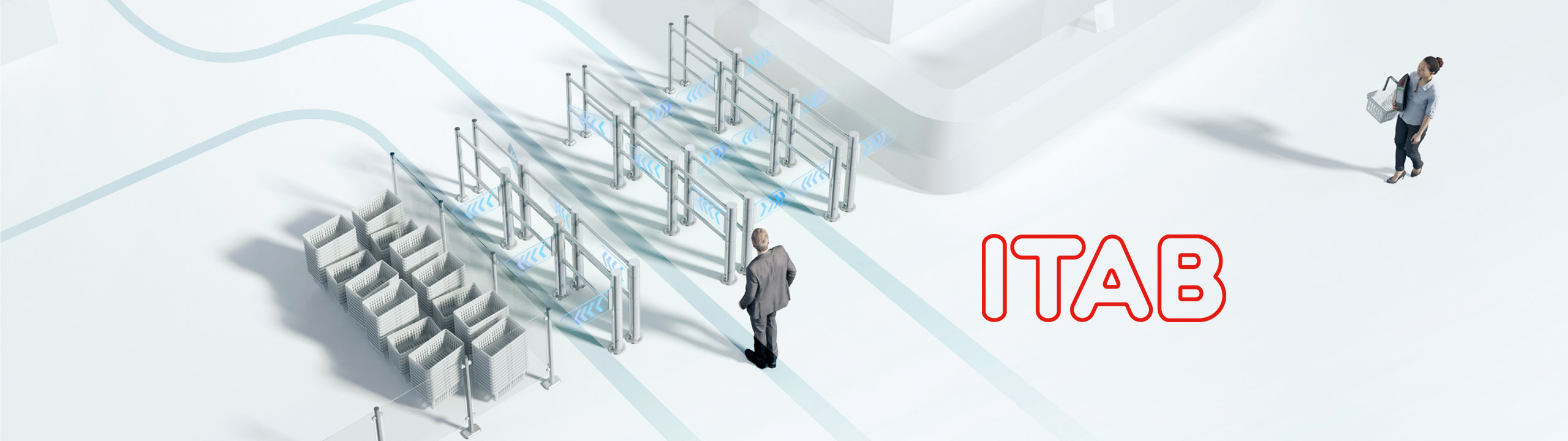Entrance system and customer flow solutions – ITAB