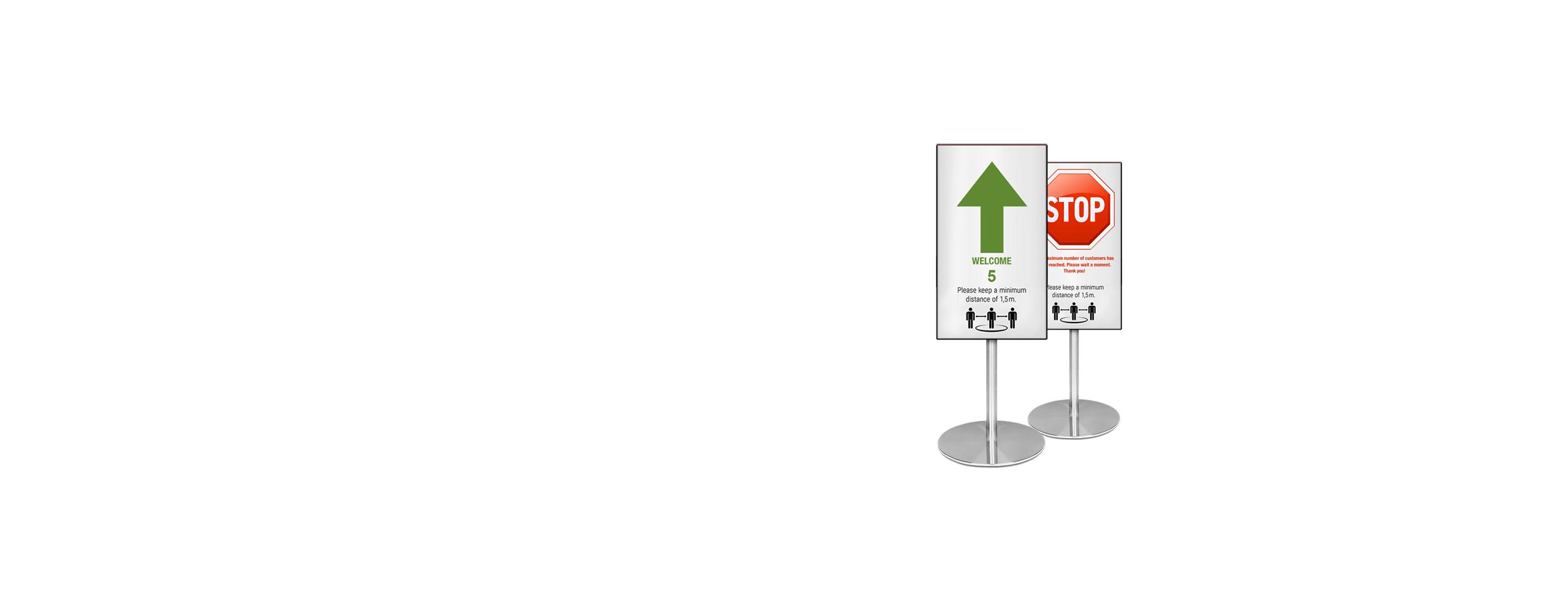 Besucherflusskontrolle